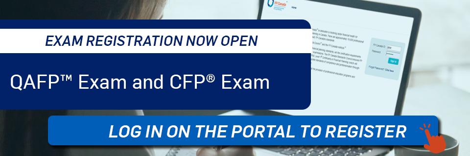 Exam Registration Now Open