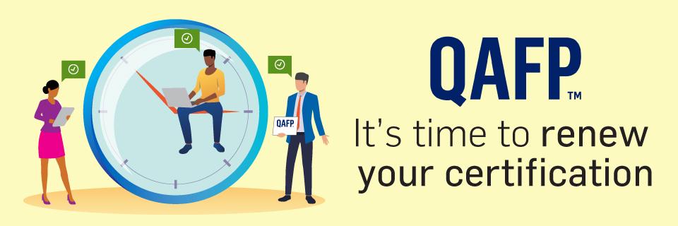 QAFP Certification Renewal